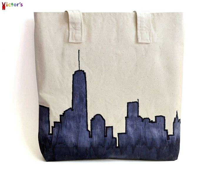 """""""New York"""" Tote Bag"""