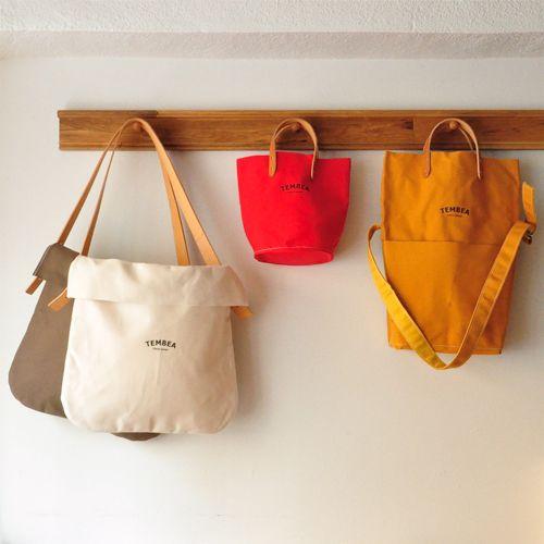 Fold over canvas bag