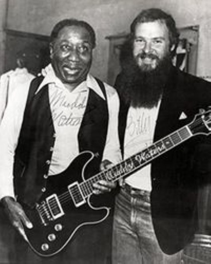 MUDDY WATERS & BILLY GIBBONS
