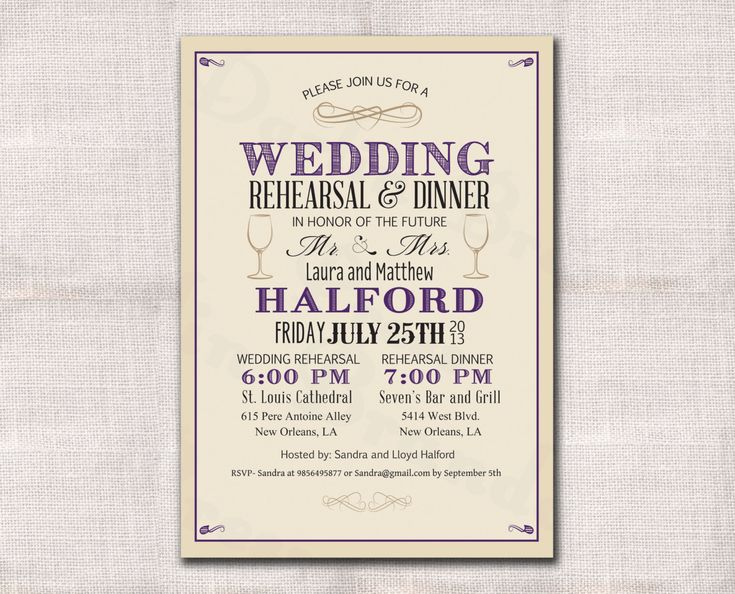 the 25+ best rehearsal dinner invitation wording ideas on, Wedding invitations