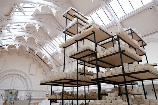'Manifest 10,000 Hours' installation by Claire Twomey features in my February 2016 roundup. A month documented *in numbers* at my blog 'notes on paper'. Join in by using the hashtag #monthinnumbers on Instagram or by reading my full guide here: http://notesonpaper.blogspot.co.uk/p/months-in-numbers.html
