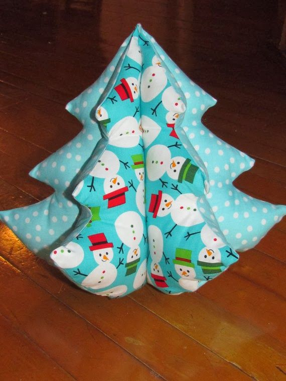 Behind Mytutorlist.com: Christmas Sewing Projects - Christmas Trees