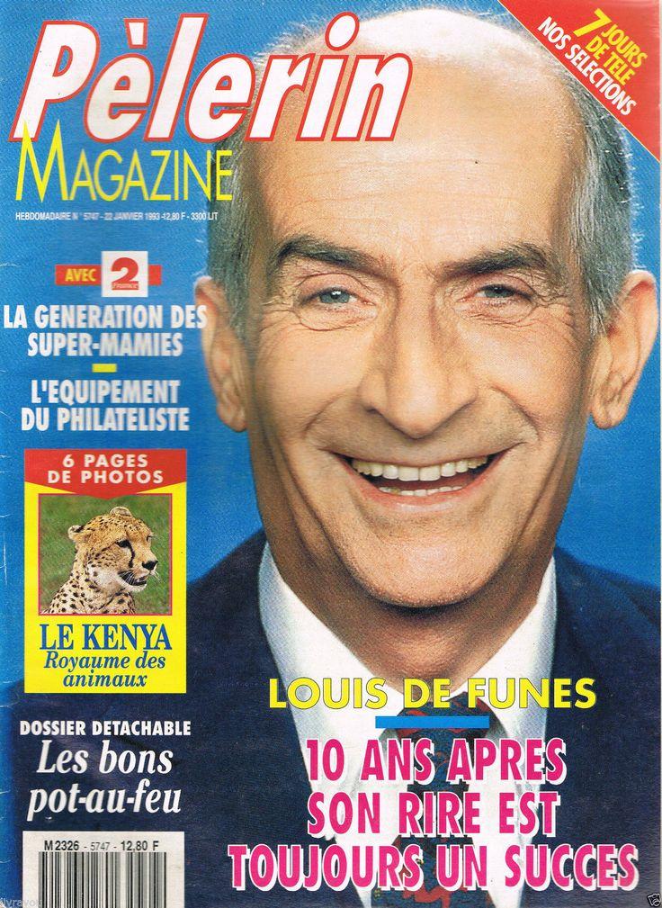 ▬►le Pélerin N° 5747 DU 22 01 1993 Louis DE Funès | eBay