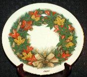 Lenox 1994 Annual Thanksgiving America's Bounty Plate
