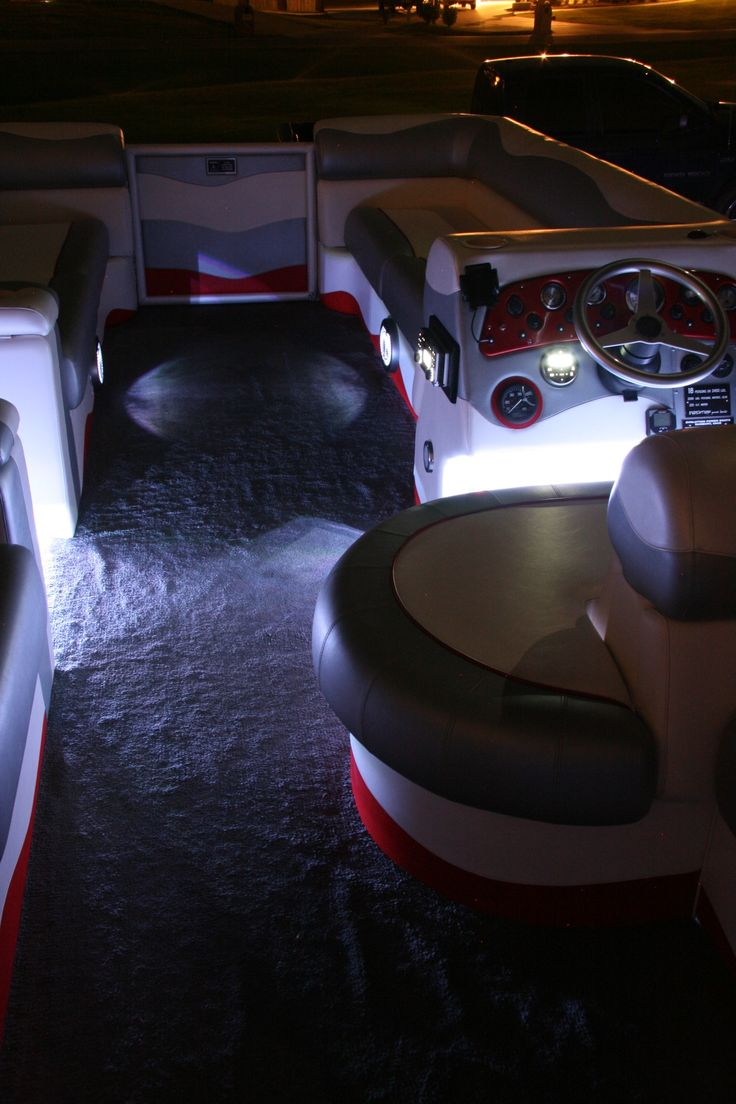 Custom Boat Headlights : Images about pontoon boats on pinterest the boat