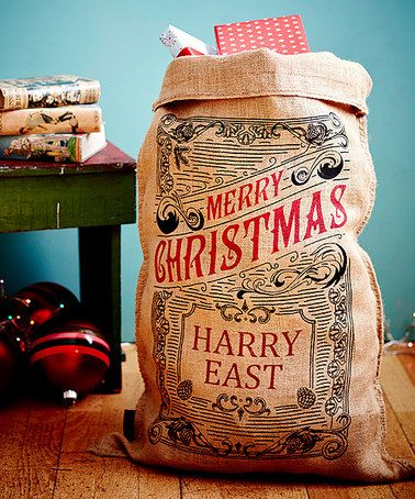 Love this The Caxton Personalized Christmas Sack on #zulily! #zulilyfinds