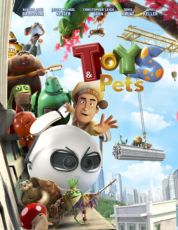 Toys Pets Vision Film Animated Movies Animation