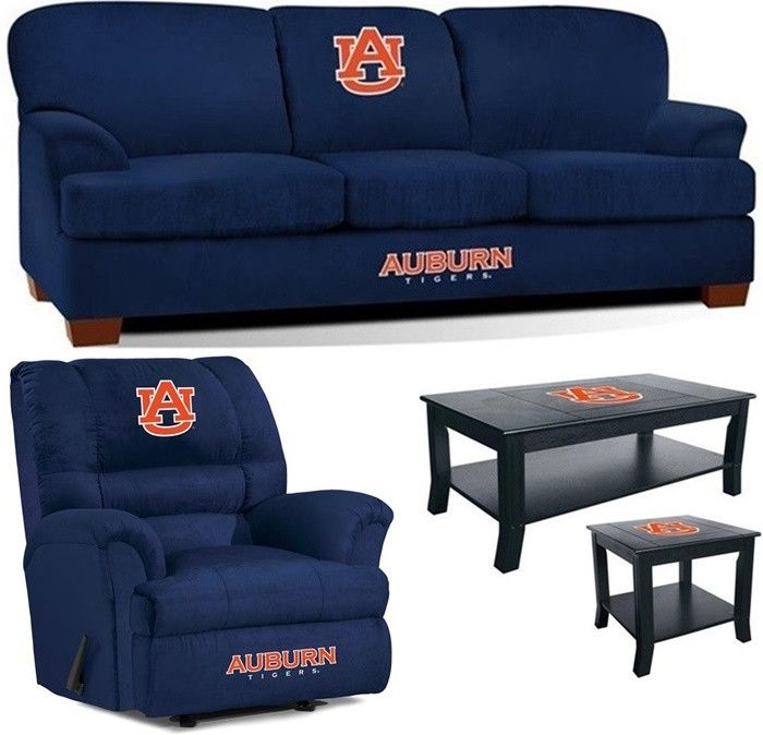 [[start tab]] Description The Auburn University Tigers Mega Fan Cave Set is made especially for the Big and Tall Fan, plus we have added the matching Auburn Tigers Coffee Table and Side Table to compl
