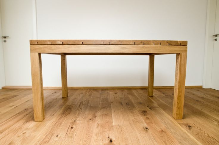 Dining table oak - barlang muhely