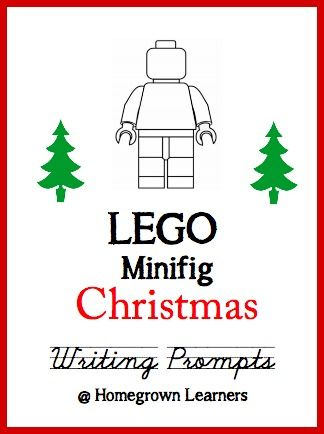 LEGO Christmas Writing Prompts and Story Telling