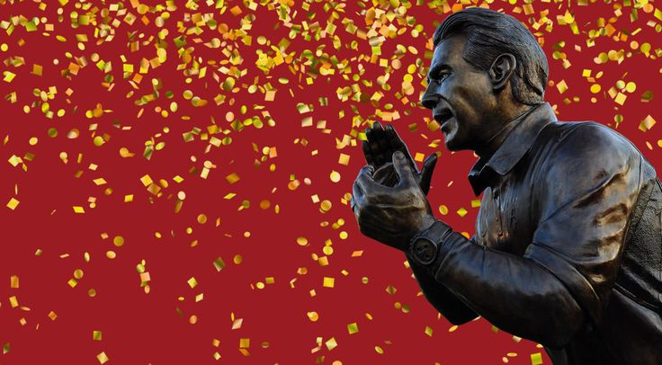 A Day in the Life of Nick Saban's Statue