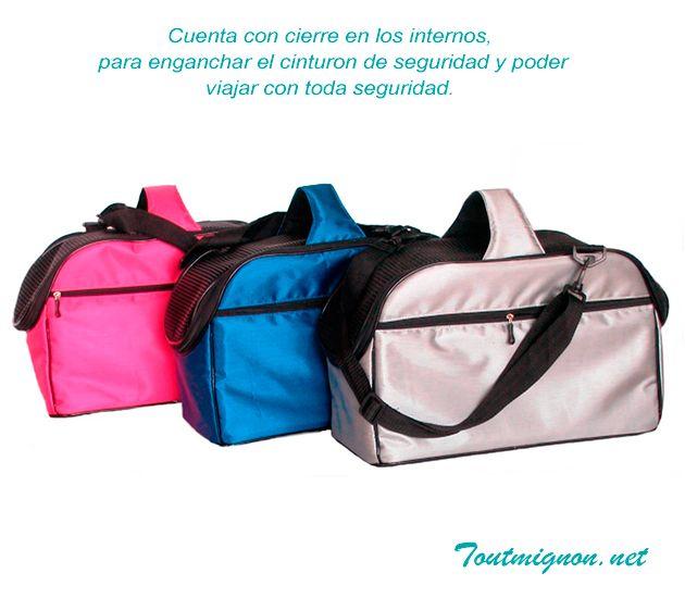 Bolsa transportadora para perros , Modelo Heiwa ideal para perros y gatos. www.toutmignon.net