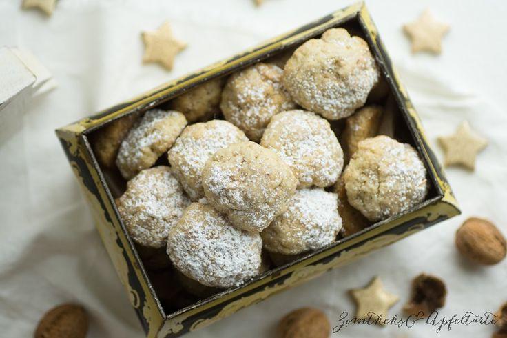 Walnuss-Cookies mit Zimt