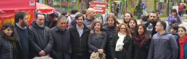 Nicolás del Caño lanzó oficialmente su campaña electoral con una visita a San Martín