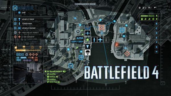 Battlefield 4 Commander app with Battlelog integration
