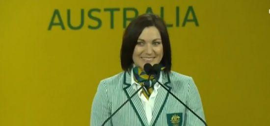 Anna Meares announced as Olympic flag bearer