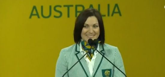 Anna Meares announced as Olympic flag bearer