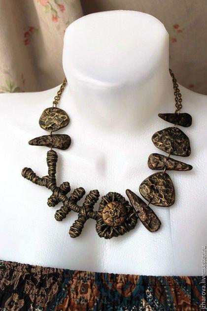 Necklace, handmade necklace.  Fair Masters - handmade.  Buy Necklace Hungry sea.  Handmade.  Pendant, fish pendant