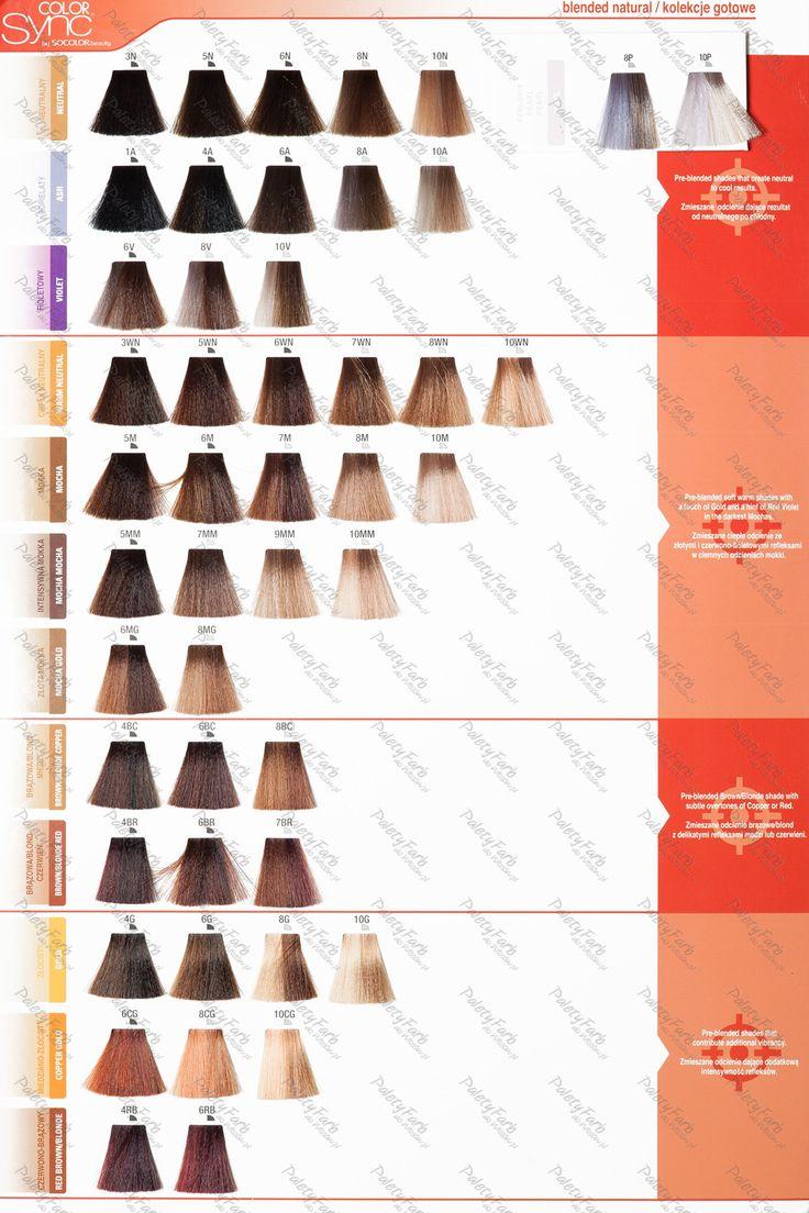 Paleta Matrix Color Sync | paleta kolorów farb do włosów