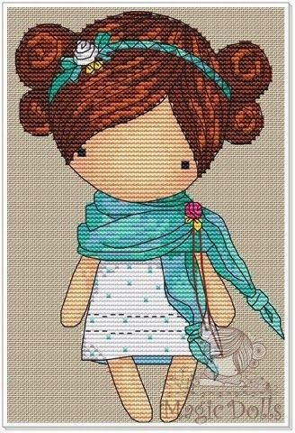 magicdolls: Cross Stitch/Вышивка