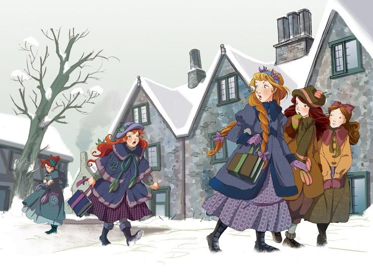 Fairy Oak-Vanilla, Lavender and Cherry #ElisabettaGnone #libri #books #romanzo #novel #art #drawing #picture #sketch #draw #artist #illustration #pencil #reading #fable #fiaba