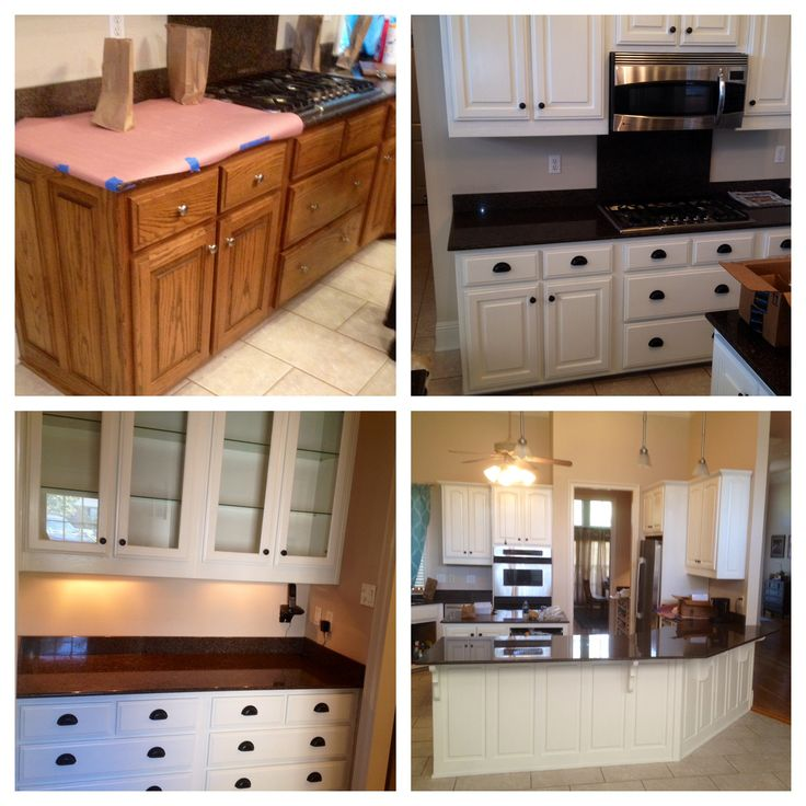 Hardware For Oak Kitchen Cabinets: 72 Best Southern Grace Transformations * Custom Paint
