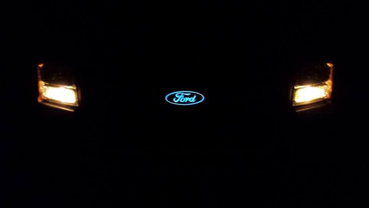 "Light Up Ford Grill Emblem 7"" F150F250 F350 F450 F550 in eBay Motors, Parts & Accessories, Car & Truck Parts 