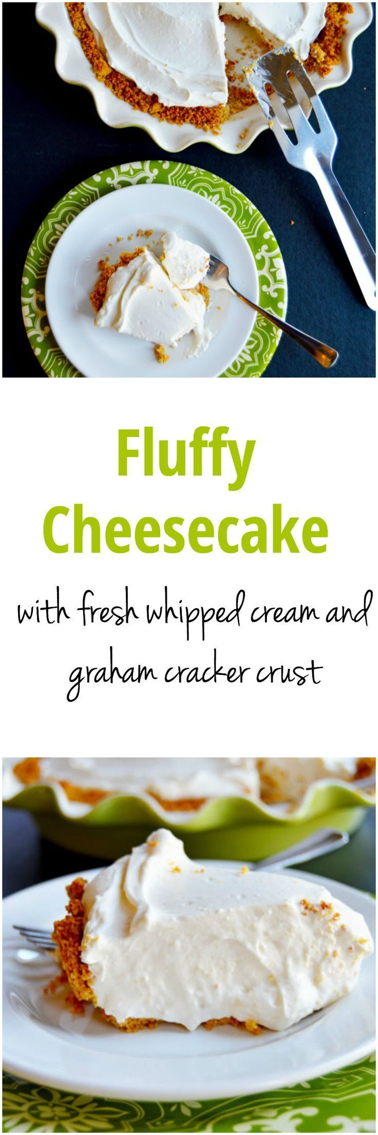 Fluffy Cheesecake: the QUICKEST and MOST DELICIOUS dessert!  With 2 bowls, 7 ingredients, and less than 20 minutes you can have dessert ready to go.  Perfect for parties and events. This is definitely a recipe to have in your repertoire | thehungrytravelerblog.com