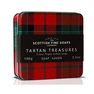 Walker Tartan Soap in a Tin - Check out this item at Farleyco.ca