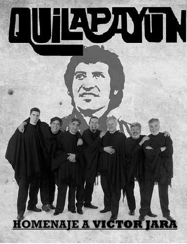 """Quilapayun """"Homenaje a Victor Jara"""" teatro teleton by La boveda de Roorrox, via Flickr"""