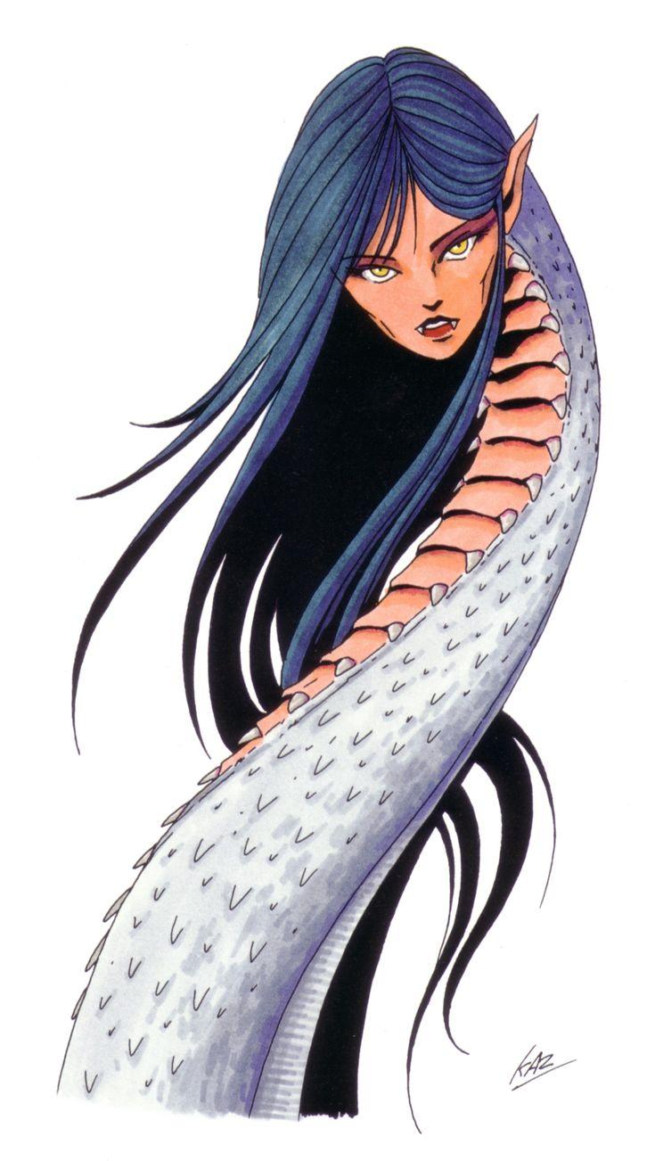 Echidna - Shin Megami Tensei