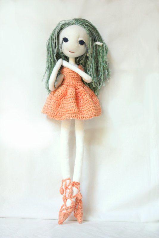 Meadow the dancing elf - handmade OOAK doll by LunateAndTheMermaid on Etsy