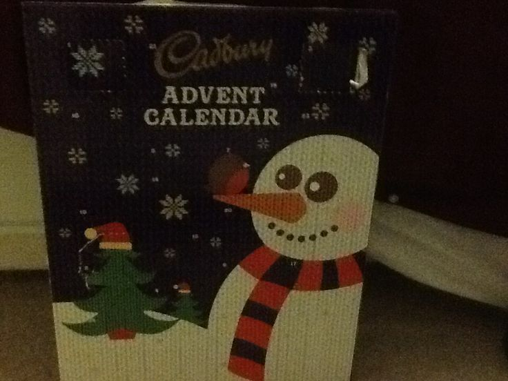 My Cadbury advent calender