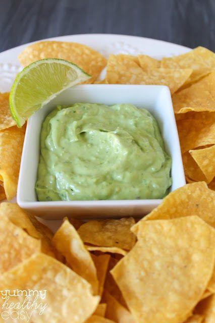 Skinny Avocado Dip | Recipe | Yogurt, Veggies and Dips