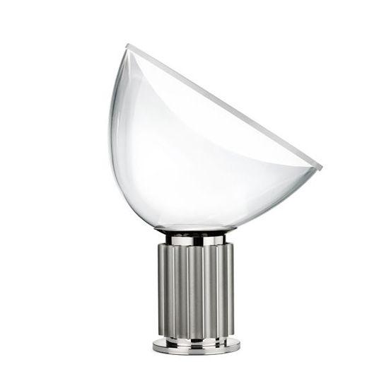 Flos Taccia Small Bordslampa, Aluminium - Roomly.se