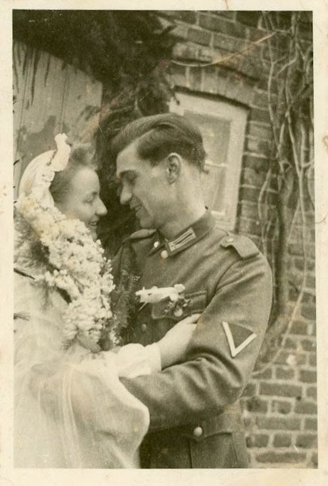 Vintage Photo A Soldiers Love Photography Paper by dawnandross, $9.00