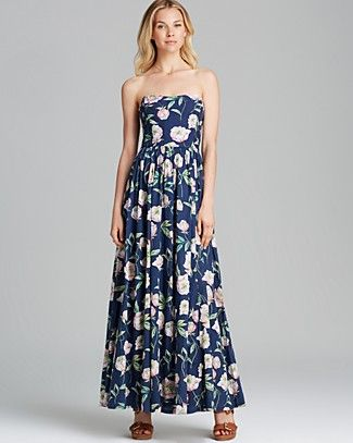 FRENCH CONNECTION Maxi Dress - Spring Bloom Voile | Bloomingdale's