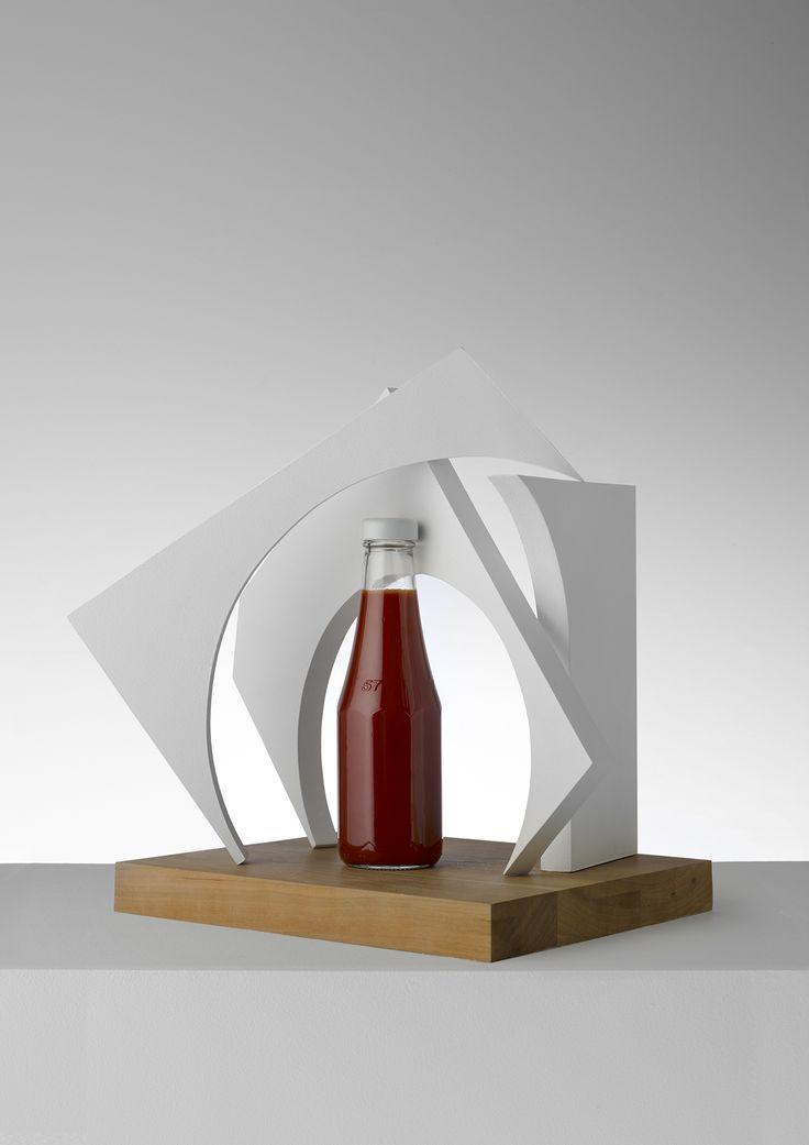 #danmatthews #photography #stilllife #food #condiments #sculptural #ketchup #line #art
