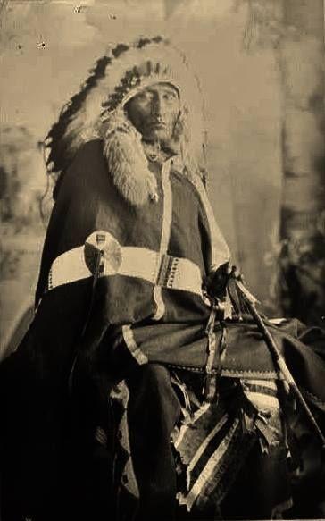 YELLOW HAWK , circa 1910