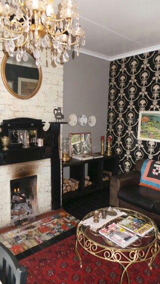 Spa lounge interior/ Vintage style. www.zauspa. co.za