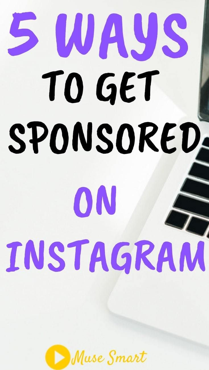 How To Get An Instagram Sponsorship Instagram Business Instagram Marketing Marketing Strategy Social Media