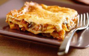 A delicious Mediterranean style vegetable lasagne.