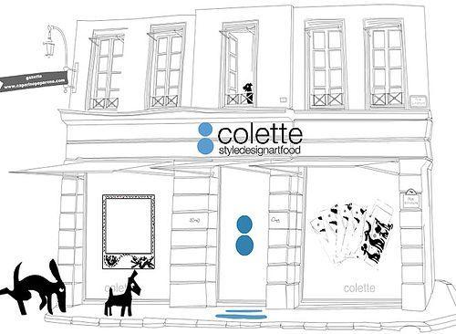 Colette : famous parisian concept store