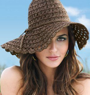 Beauty Crazed in Canada: Protect your pretty face with a floppy hat from mark. Scala Collezione and Payless!