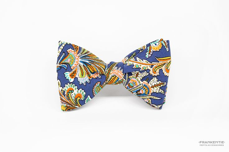 Mr Mandarin, self tied bow tie, www.frankentie.com