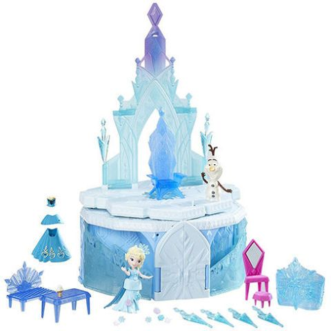This adorable Frozen toy features a collapsible castle that enchants kids with the magic of the movie. As the castle rises up and the staircases open, it lights up and plays music. So dreamy!