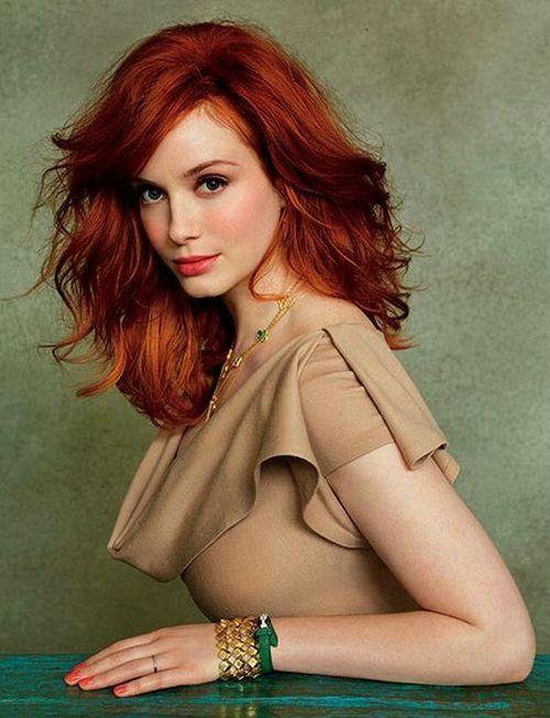 Hot redhead hairdos