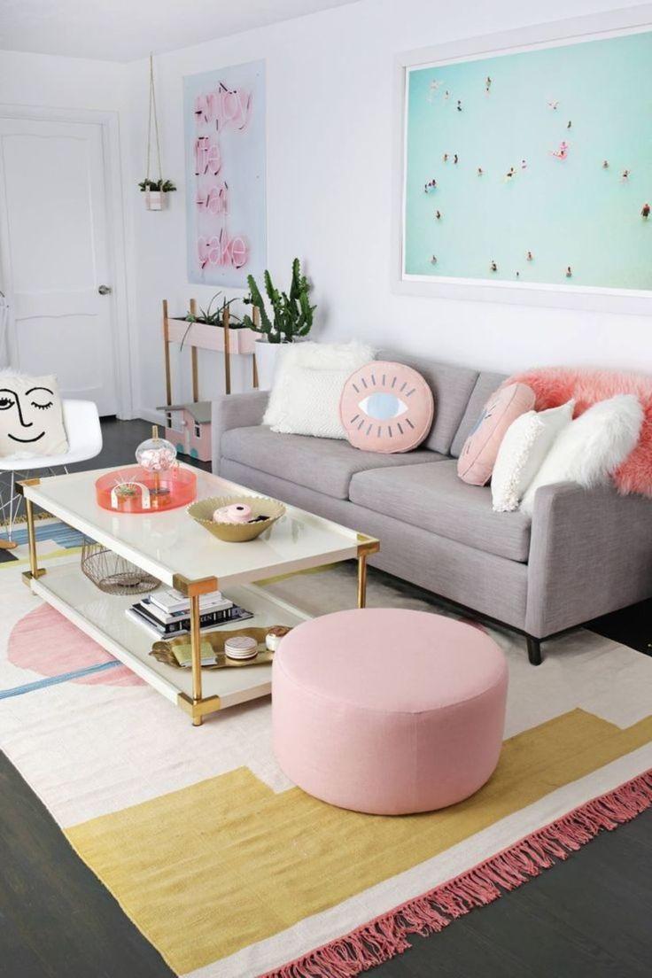 40 Ideen für kleine Wohnzimmer im Budget-Format