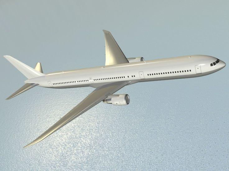 3D Model Boeing 767 400 Er Airliner - 3D Model