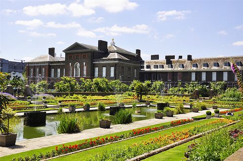 London - The orangery of Kensington Palace in Hyde Park. It's a teahouse now and serves a wonderful high tea.